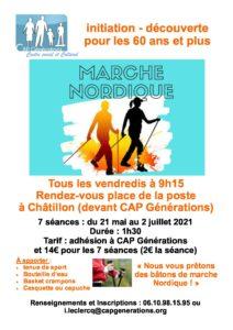 Initiation Marche Nordique !