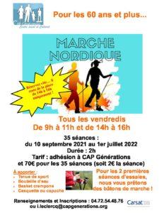 Marche Nordique 2021-2022