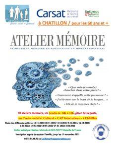 Ateliers mémoire à Châtillon !